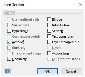 Visio Tips: Adding a context menu option to a custom smart